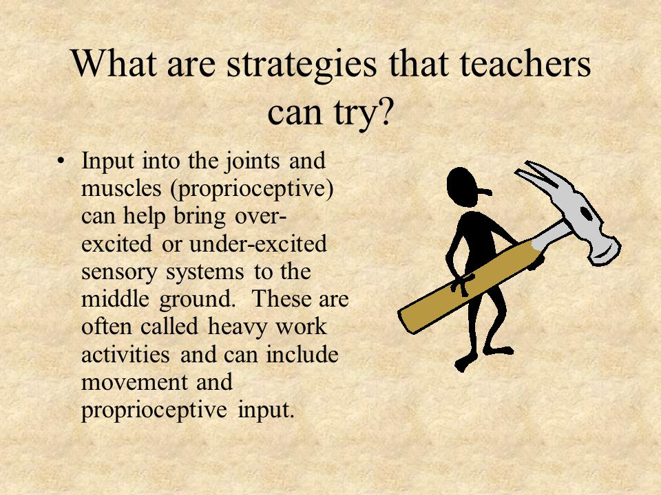 What are strategies that teachers can try.