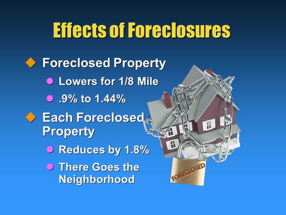 Factors Leading to Foreclosures  Personal Bankruptcy  Poor Loan Servicing  ARM Adjustments  Identity Theft  Mortgage Fraud & Illegal Flipping  Predatory Lending  Personal Bankruptcy  Poor Loan Servicing  ARM Adjustments  Identity Theft  Mortgage Fraud & Illegal Flipping  Predatory Lending www.ftc.gov/idtheft
