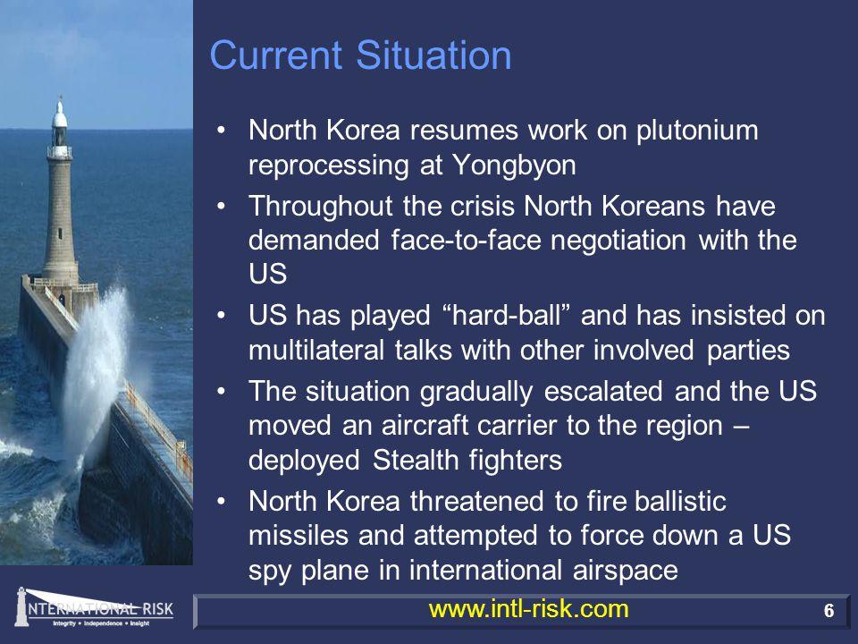 Terrorism & Instability In Asia - International Risk's Assessment Steve Vickers President & CEO International Risk Ltd.