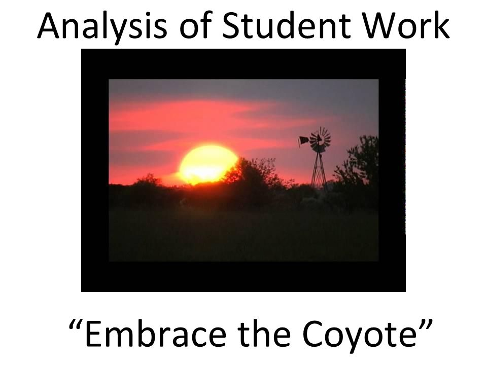 Analysis of Student Work Support ●Joseph Beuys ●Revised Bloom's Taxonomy Verbs and Examples ●How to begin to create Timelapse Artifacts ●Wrap-Up