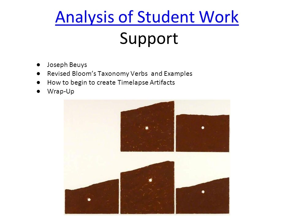 Revised Bloom's Taxonomy How are these two images similar? How are they different?