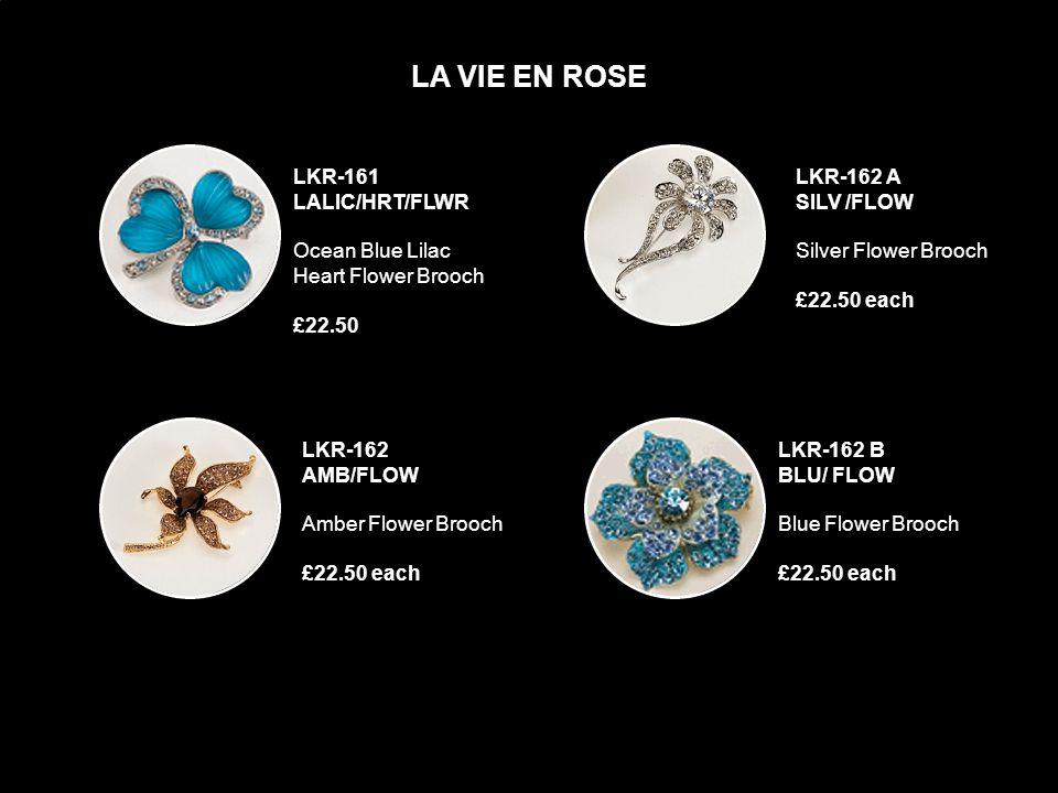 LKR-159 BLU/CRYS/TURT Blue Crystal Turtle Brooch £22.