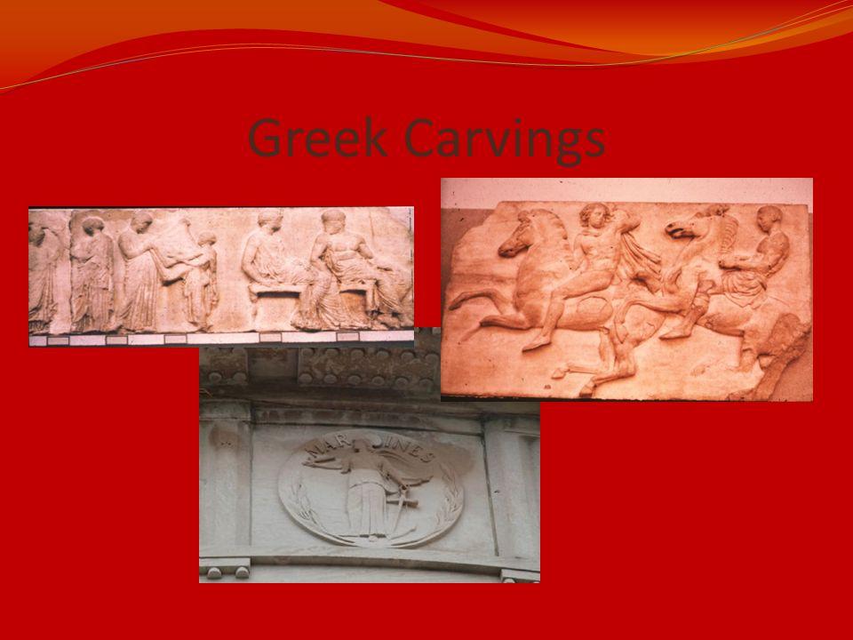 Greek Carvings