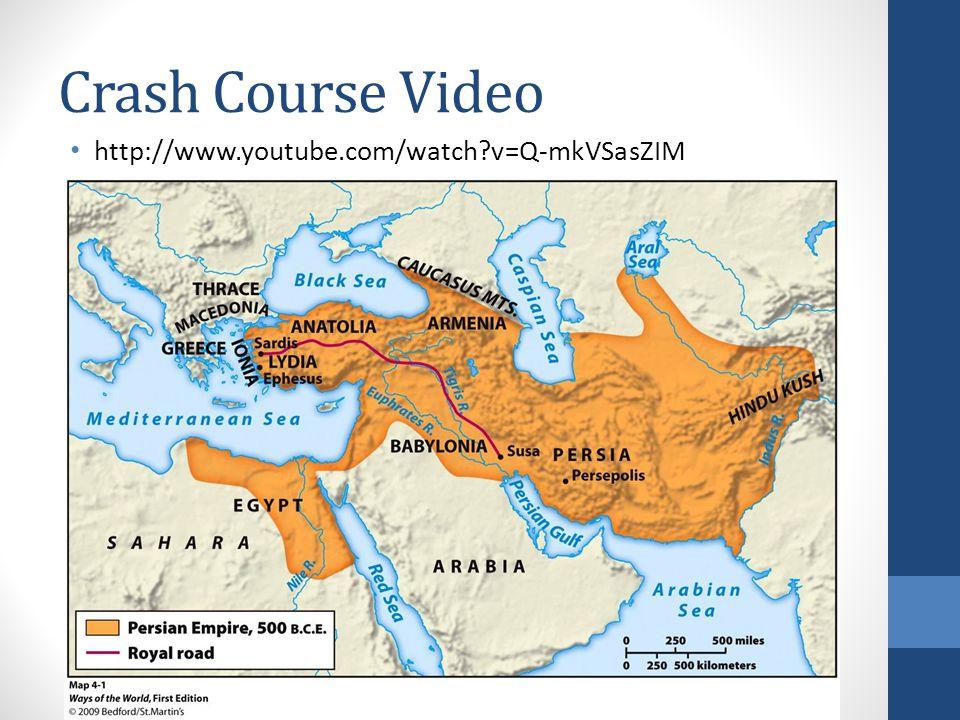 Crash Course Video http://www.youtube.com/watch v=Q-mkVSasZIM