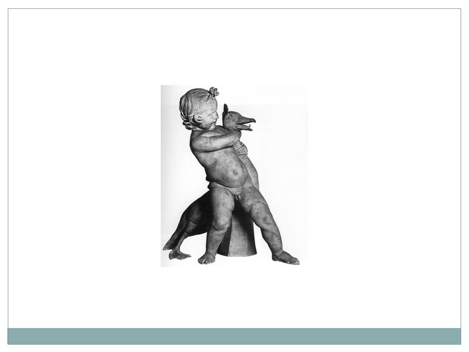 Title of Work: Boy struggling with goose Period/Style: Hellenistic Greece Architect/Artist: N/A