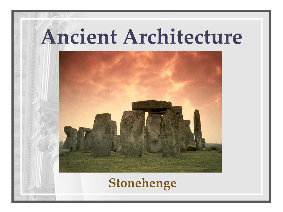 Ancient Architecture Stonehenge