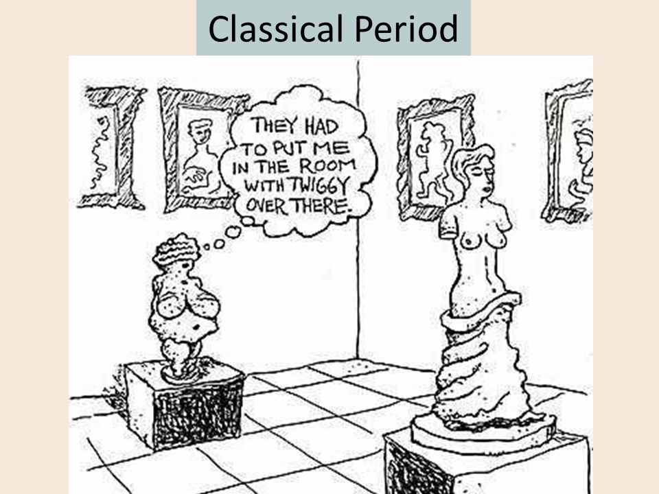 Classical Period The art of the Classical Greek style is characterized by a freedom of movement, freedom of expression, and it celebrates the individu
