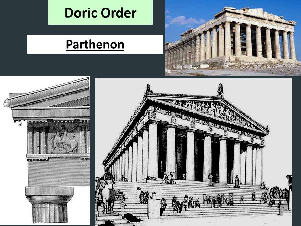 Parthenon Doric Order