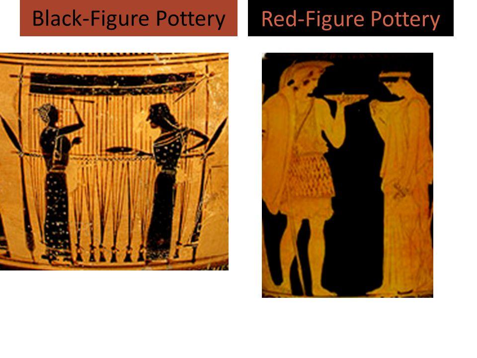 Red-Figure Pottery Black-Figure Pottery