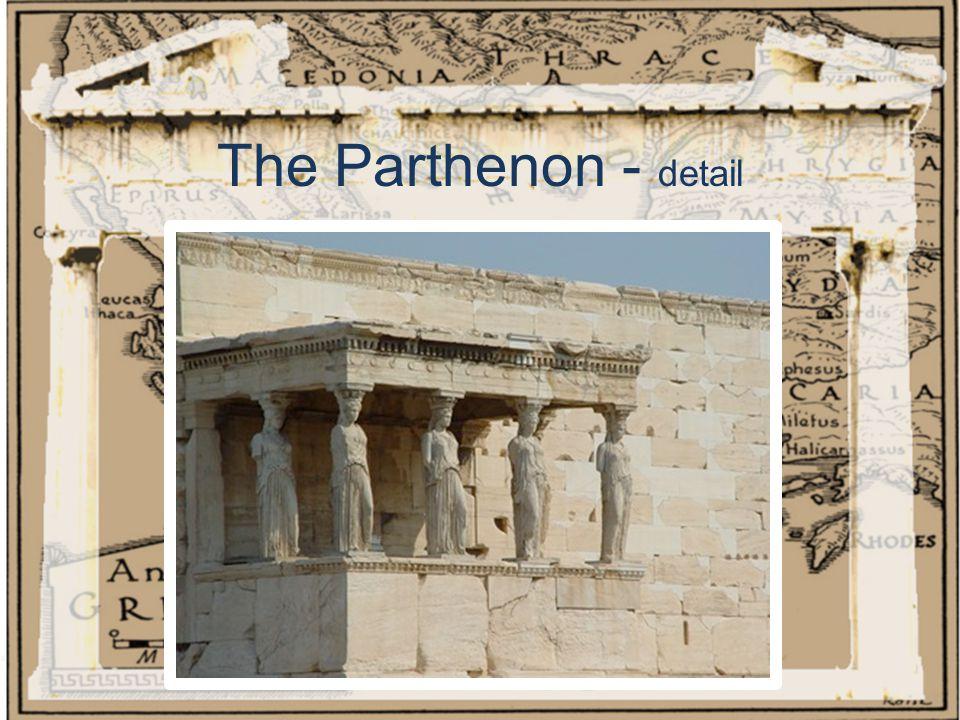 The Parthenon - detail