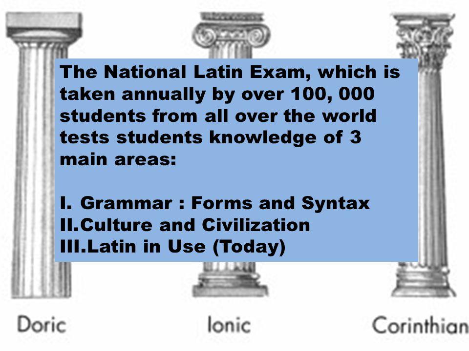 II.Culture and Civilization A.