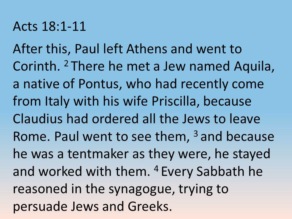 Paul calls believers to a higher standard.