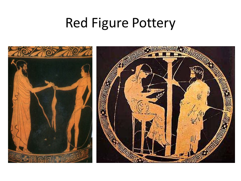 Red Figure Pottery