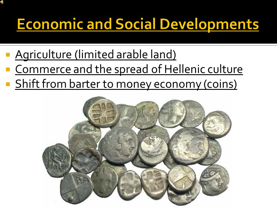 Mountains both helped and hindered the development of city-states  Greek cities were designed to promote civic and commercial life  Colonization was prompted by overpopulation and the search for arable land