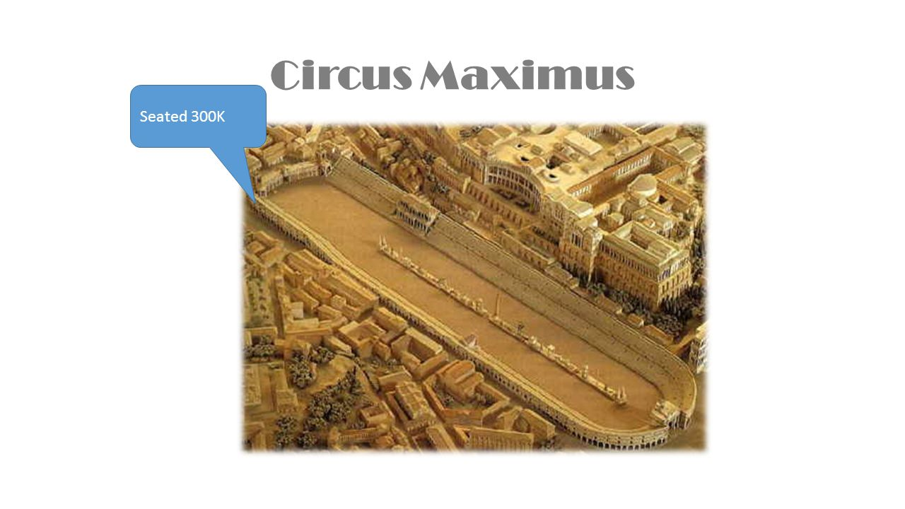 Circus Maximus Seated 300K