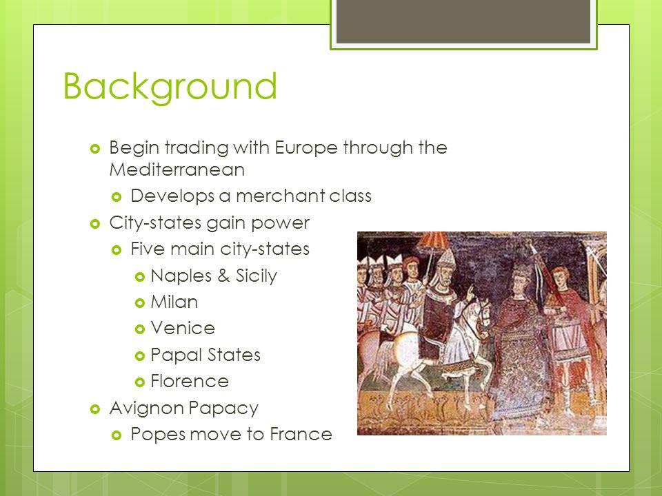 Various City-States  Florence  Center of the Renaissance  Rome  Venice  Longest lasting  Naples  King  Sicily