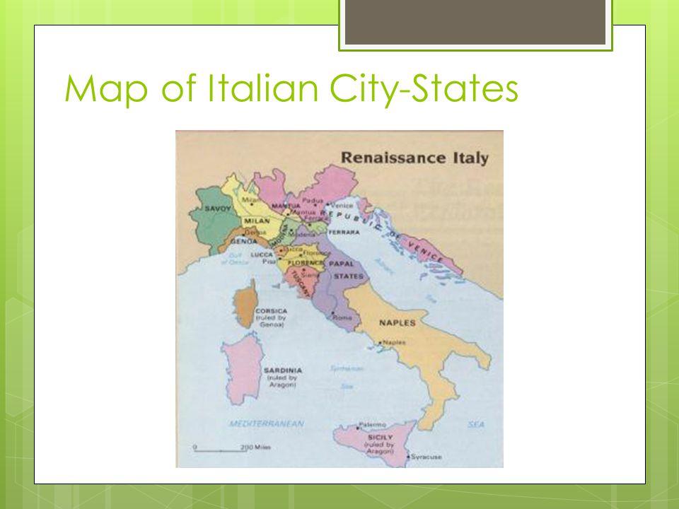 Map of Italian City-States