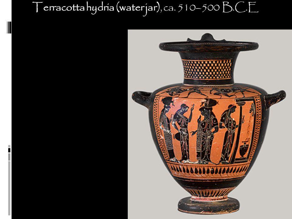 Terracotta hydria (water jar), ca. 510–500 B.C.E