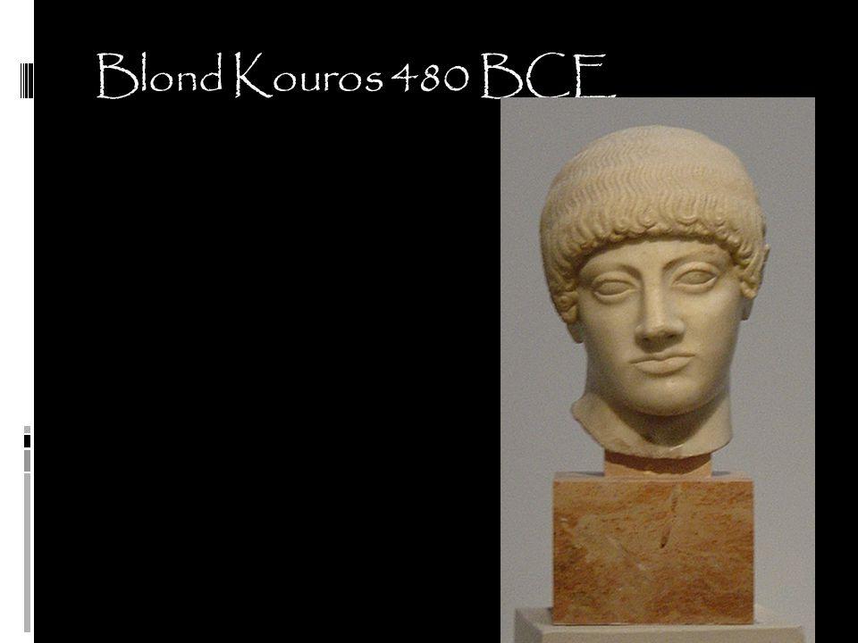 Blond Kouros 480 BCE