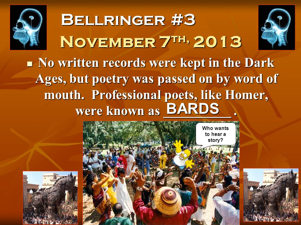 Bellringer #2 November 6 th, 2013 How did living on the island of Crete affect the Minoans.