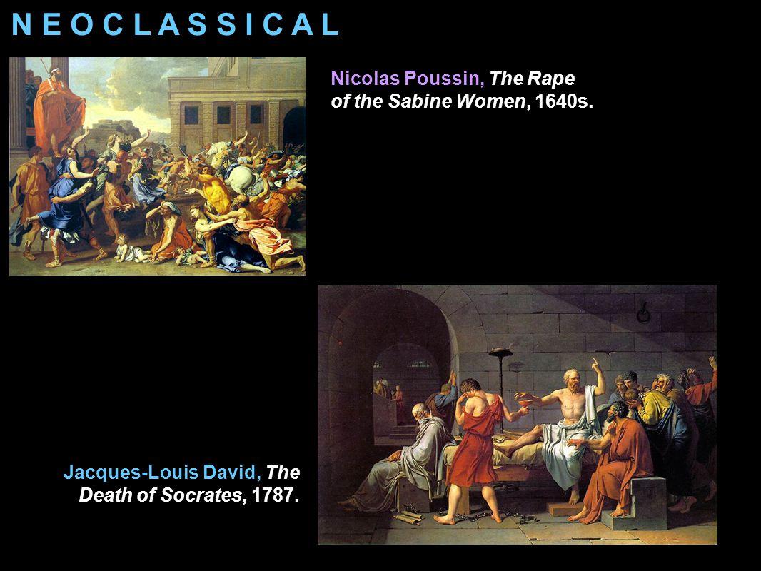 Jacques-Louis David Napoleon in His Study 1812. N E O C L A S S I C A L