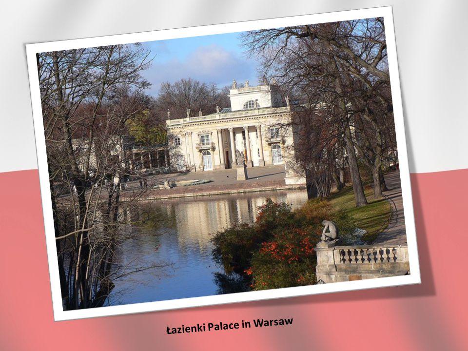 Łazienki Palace in Warsaw