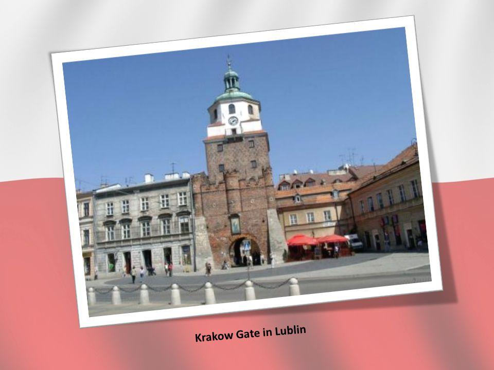 Krakow Gate in Lublin