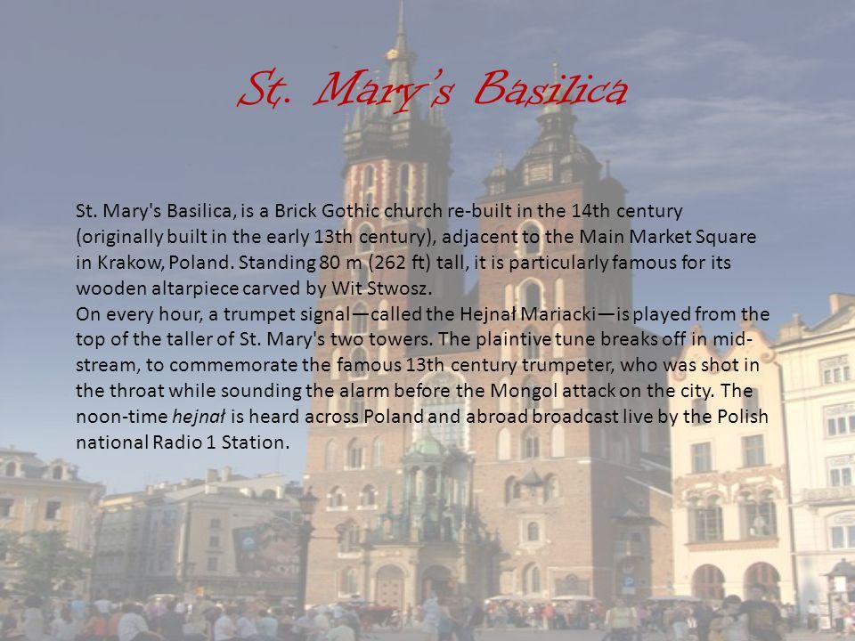 St. Mary's Basilica St.