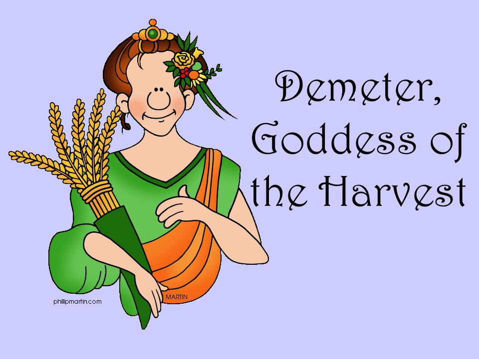 Demeter, Goddess of the Harvest