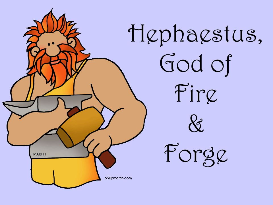 Hephaestus, God of Fire & Forge