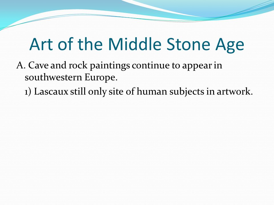 Art of the New Stone Age A.Rings and rows of stones (i.e.