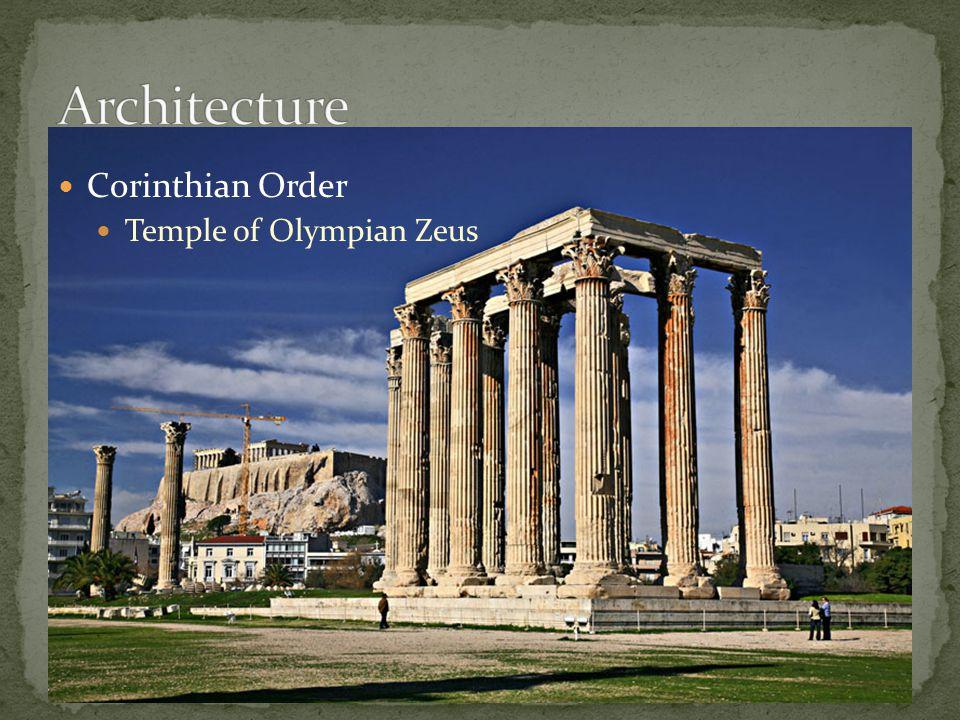 Corinthian Order Temple of Olympian Zeus