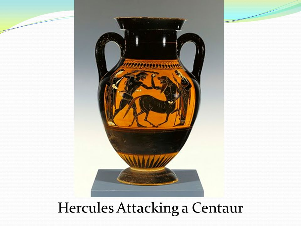 Hercules Attacking a Centaur