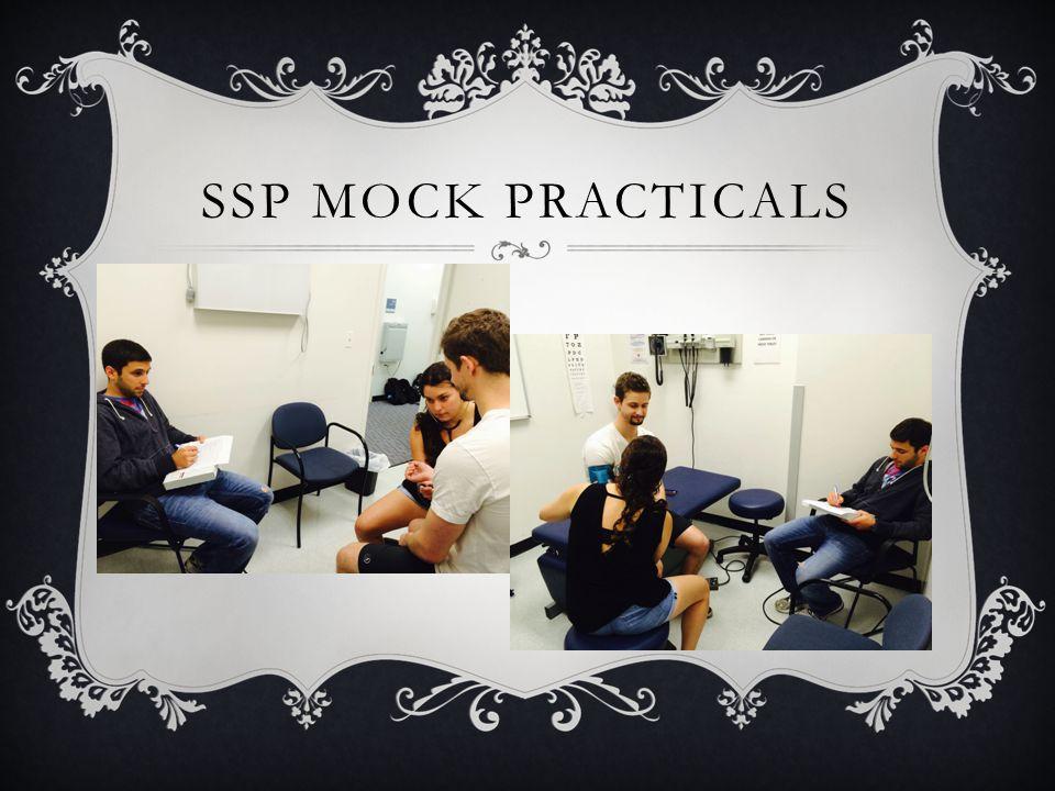 SSP MOCK PRACTICALS