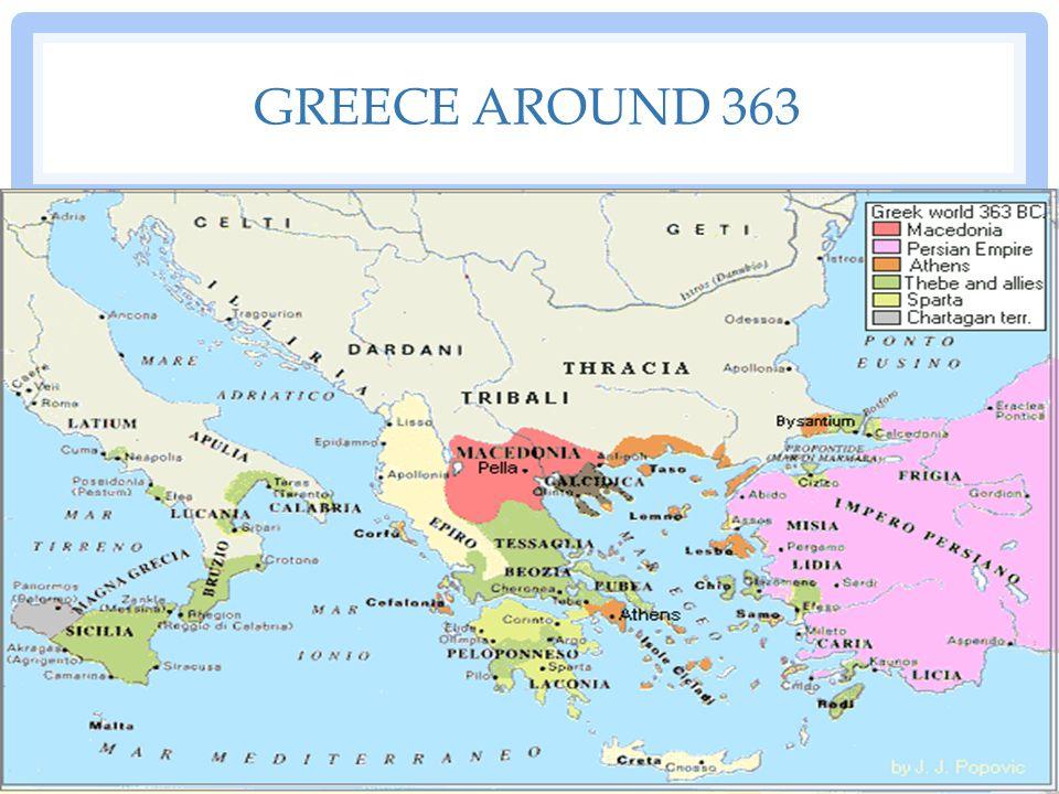 GREECE AROUND 363