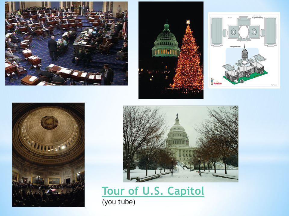Tour of U.S. Capitol (you tube)
