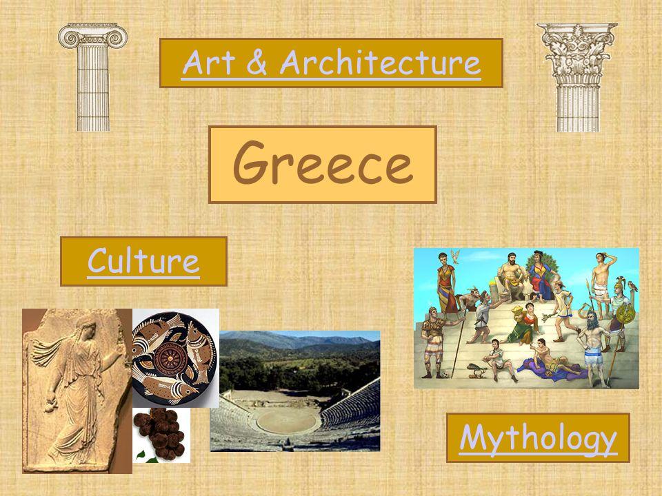 Greece Art & Architecture Mythology Culture