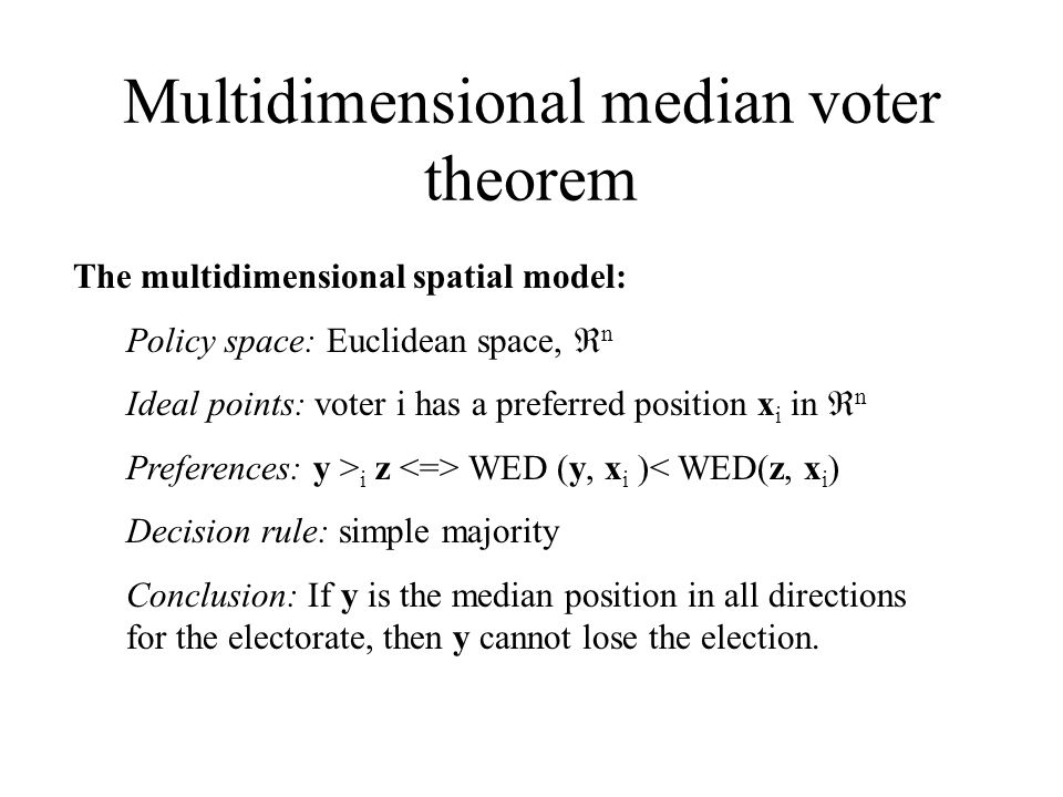 One dimensional discrete model In this case the model is very simple.
