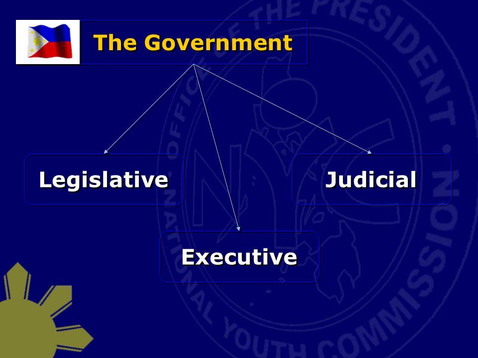 The Government Legislative Executive Judicial