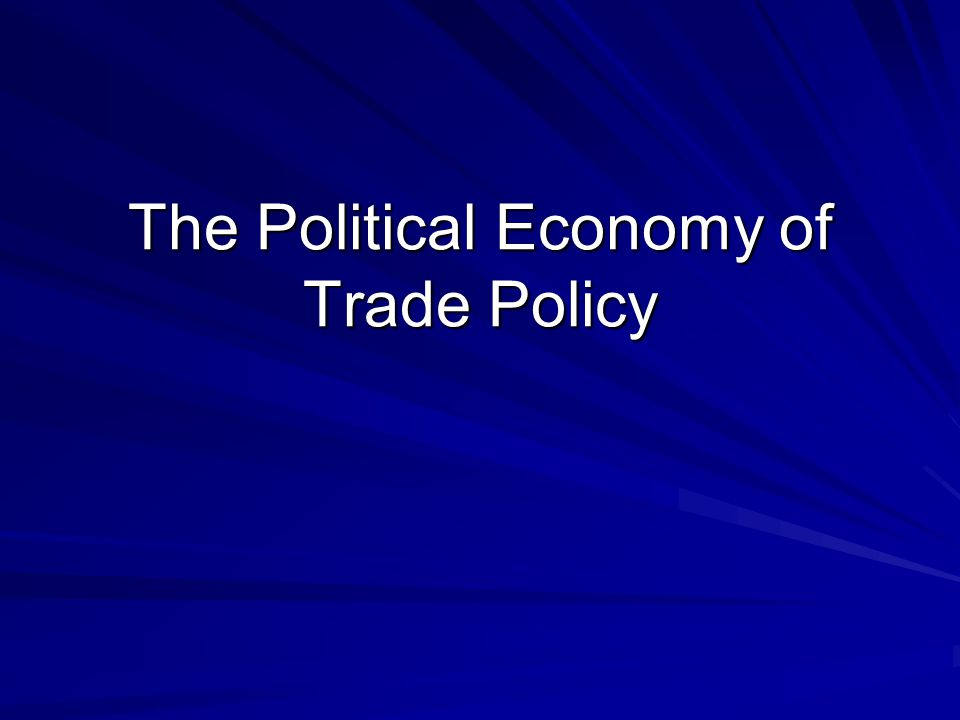 Multi-lateral Trade Agreements