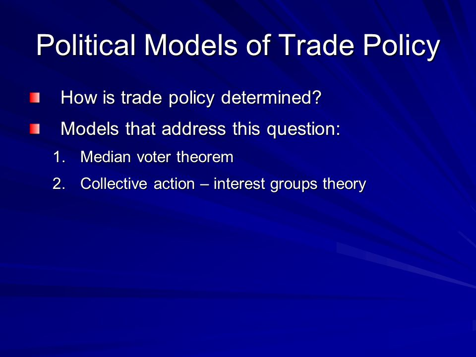Median Voter Theorem The median voter theorem predicts that democratic political parties may change their policies to court the voter in the middle of the ideological spectrum (the median voter).