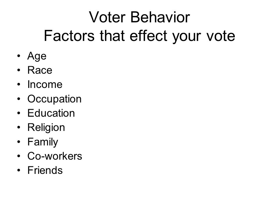 Sociological Factors All facts below are the average.