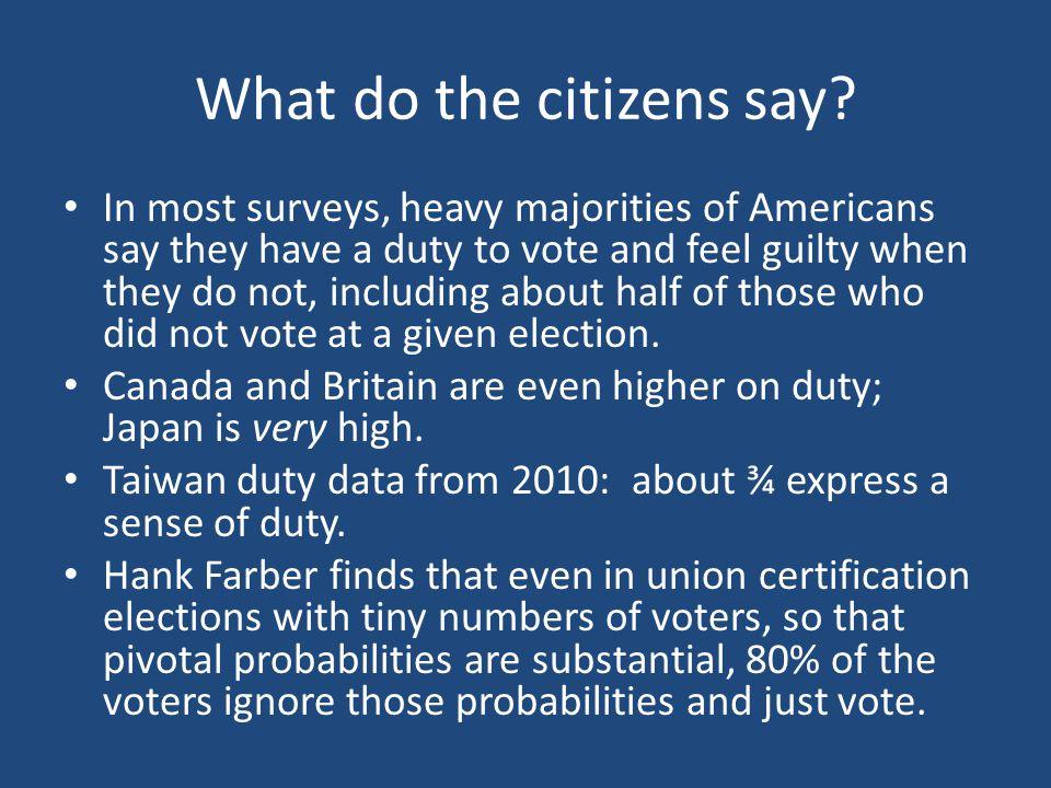 What do various authorities say.U.S.