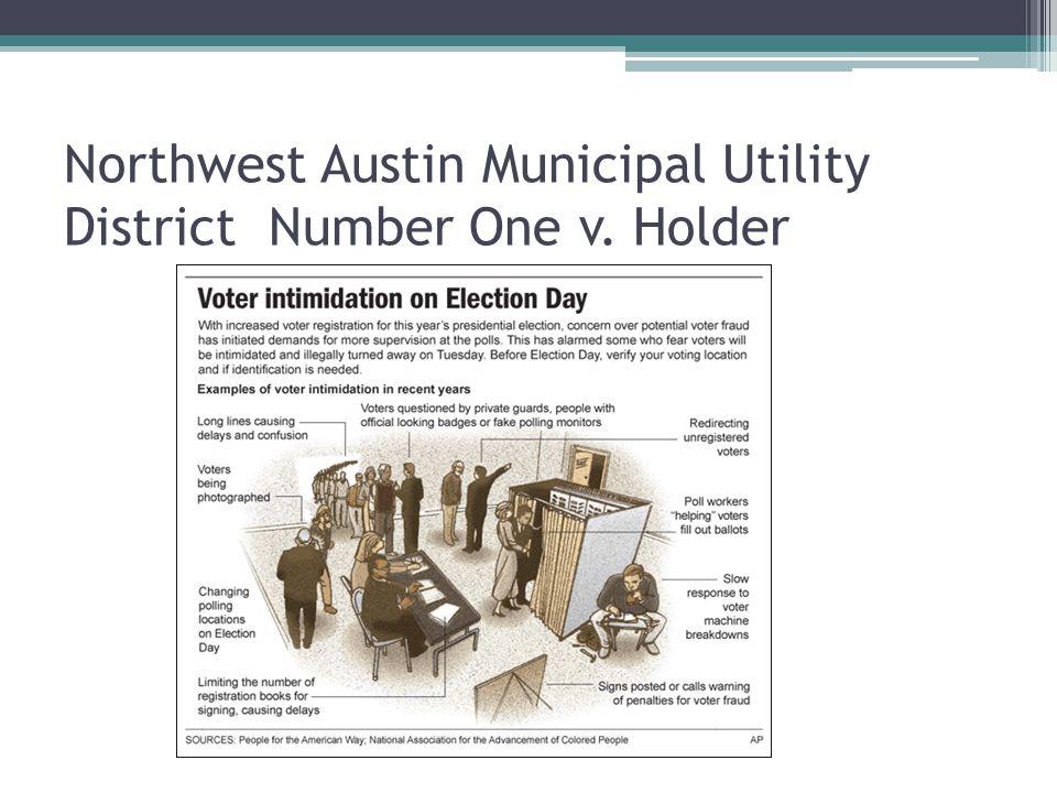 Northwest Austin Municipal Utility District Number One v. Holder
