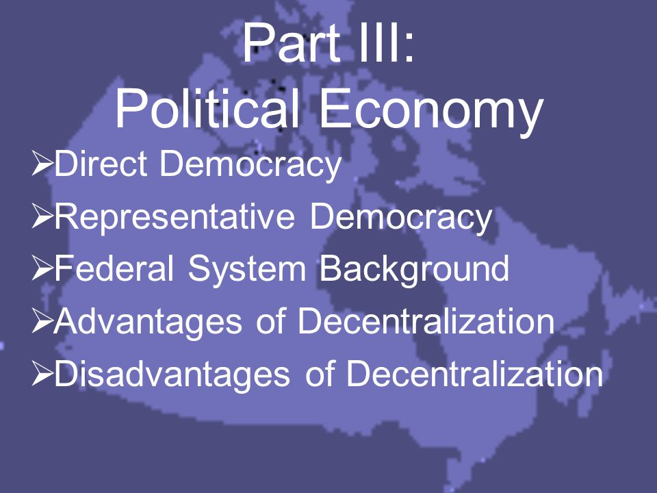Theory - Public Choice PUBLIC CHOICE – a field of applying economic principles to the understanding of political decision making  We will examine two models of democratic decision making: 1)Direct Democracy 2)Representative Democracy