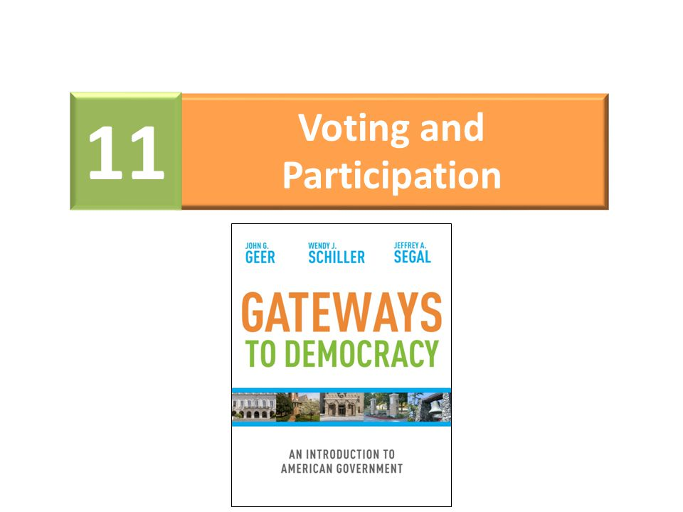 Voting and Participation 11
