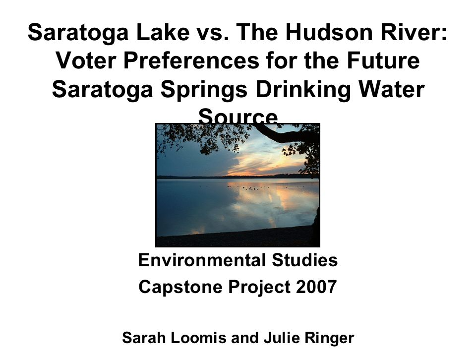 Saratoga Lake vs.
