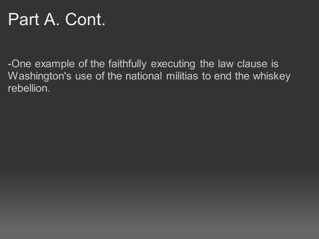 Part A. Cont.