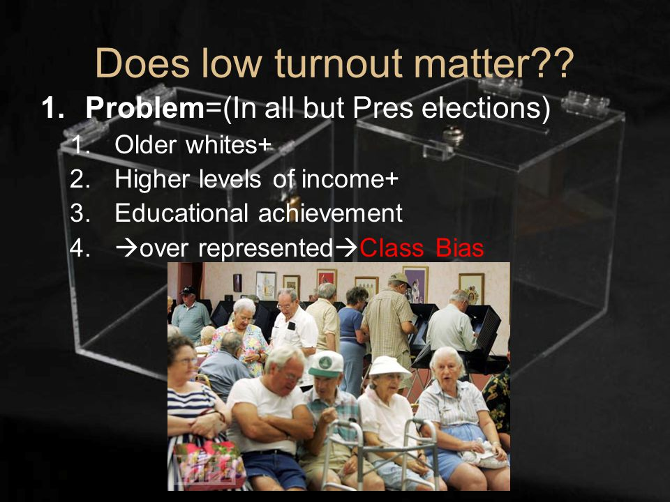 Does low turnout matter .