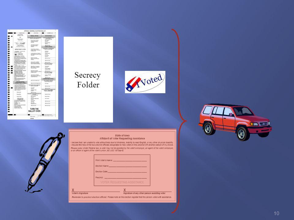 10 Secrecy Folder